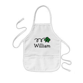 Personalizado cocinando el delantal para los niños