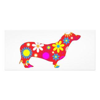 Personalizado colorido floral retro enrrollado del plantillas de lonas