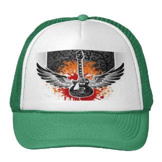 Personalizado con alas sangriento del gorra del ca