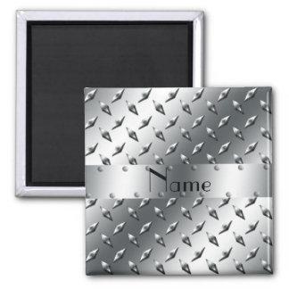 Personalizado con su acero conocido de la placa de imán cuadrado