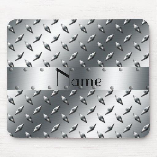 Personalizado con su acero conocido de la placa de alfombrilla de raton