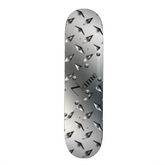 Personalizado con su acero conocido de la placa skateboard