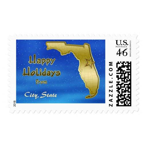 Personalizado cósmico del mapa de la Florida del c Sellos