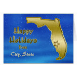 Personalizado cósmico del mapa de la Florida del c Tarjetas