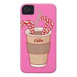 Personalizado cuatro caramelos y un iPhone 4/4S de iPhone 4 Case-Mate Fundas