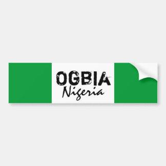Personalizado de Africankoko (Ogbia, estado de Bay Pegatina De Parachoque