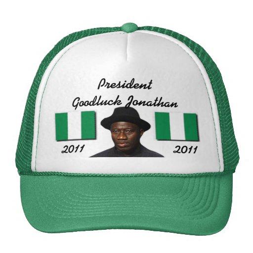 Personalizado de Africankoko (presidente Goodluck  Gorro
