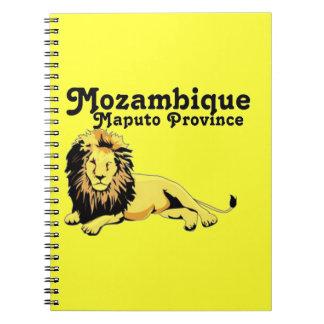 Personalizado de Africankoko Provincia de Maputo Libretas Espirales