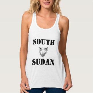 Personalizado de Africankoko, Sudán del sur Playera Con Tirantes