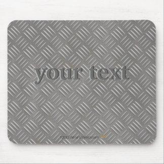 Personalizado de aluminio grabado en relieve de la mouse pads