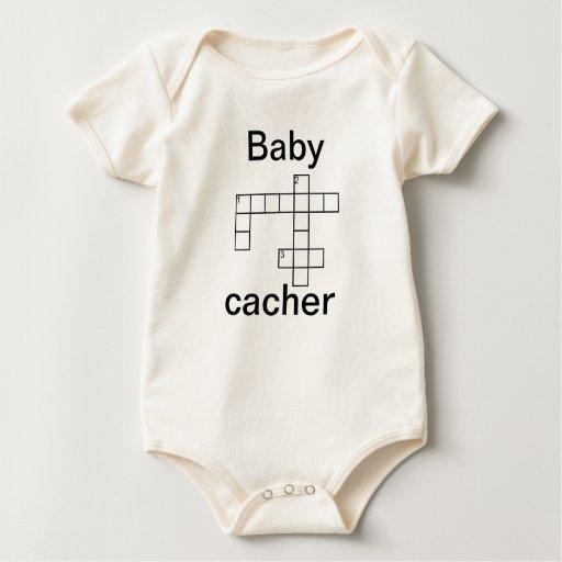 Personalizado de Cacher Geocaching del Body Para Bebé