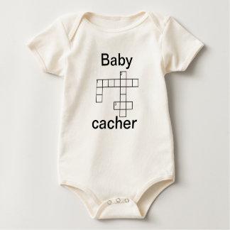 Personalizado de Cacher Geocaching del Traje De Bebé