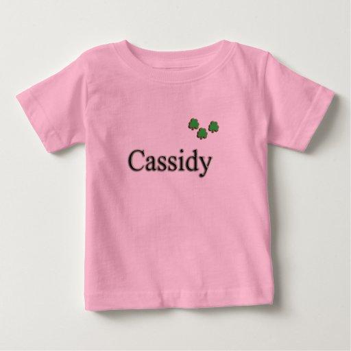 Personalizado de Cassidy Playeras