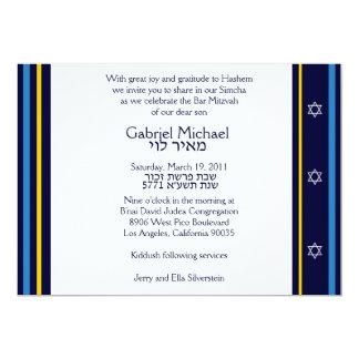 """Personalizado de Gabriel Michael Invitación 5"""" X 7"""""""