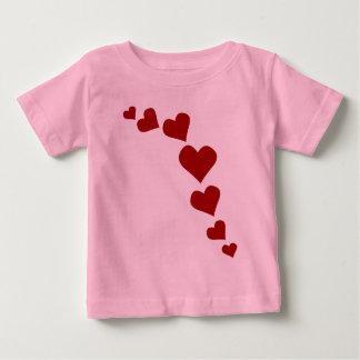 Personalizado de la camisa del amor del bebé de la
