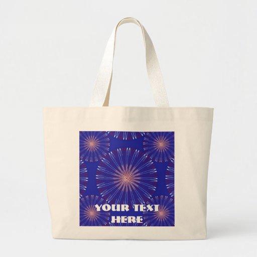 Personalizado de la corona del patriota bolsa lienzo