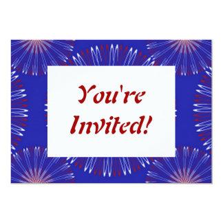 Personalizado de la corona del patriota invitación 12,7 x 17,8 cm