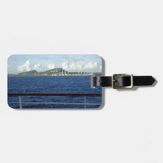 Personalizado de la costa costa de Curaçao Etiqueta Para Maleta