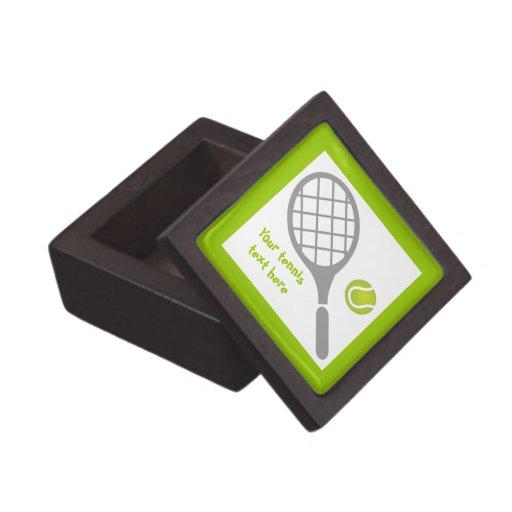 Personalizado de la estafa y de la bola de tenis cajas de joyas de calidad