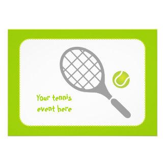Personalizado de la estafa y de la bola de tenis