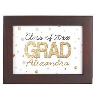 Personalizado de la fiesta de graduación del caja de recuerdos