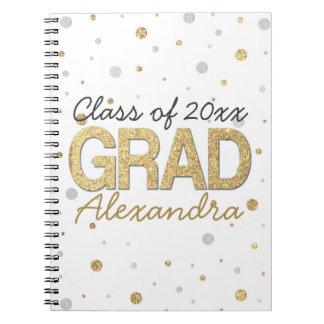 Personalizado de la fiesta de graduación del notebook