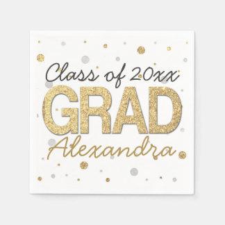 Personalizado de la fiesta de graduación del servilleta de papel