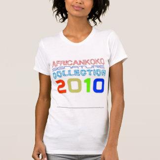 Personalizado de la hembra de Africankoko 2010 Playera