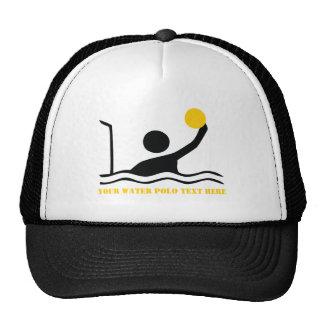 Personalizado de la silueta del negro del jugador gorra