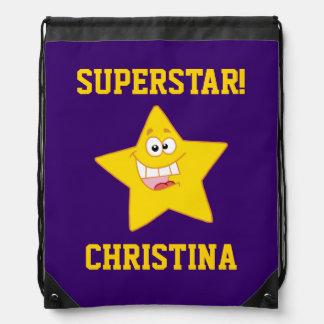 Personalizado de la superestrella mochilas