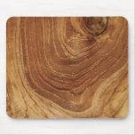 Personalizado de madera de madera Mousepad de la