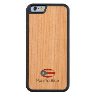 Personalizado de Puerto Rico Funda De iPhone 6 Bumper Cerezo
