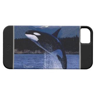 Personalizado de salto de la orca personalizado funda para iPhone SE/5/5s