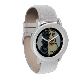 Personalizado de trigo negro del dúo del escocés relojes de mano