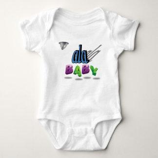 personalizado del ala mameluco de bebé