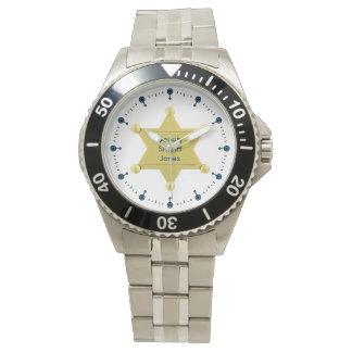Personalizado del ayudante del sheriff reloj