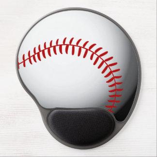 Personalizado del béisbol alfombrilla de raton con gel