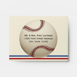 Personalizado del béisbol del vintage