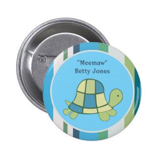 Personalizado del botón del cumpleaños de la fiest pin