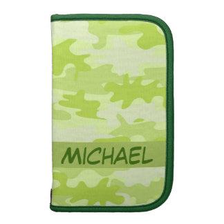 Personalizado del camuflaje de Camo de la verde Planificador