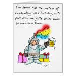 Personalizado del cumpleaños felicitaciones
