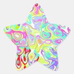 ¡Personalizado del ~ de los pegatinas de la Calcomanías Forma De Estrellas
