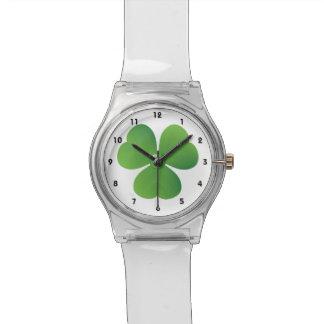 Personalizado del día de St Patrick irlandés del t Reloj