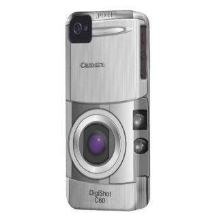 Personalizado del estilo de la cámara digital iPhone 4 protector