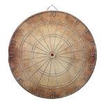 Personalizado del fondo del papel de la antigüedad tablero dardos