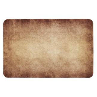 Personalizado del fondo del papel de la antigüedad imanes rectangulares