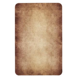 Personalizado del fondo del papel de la antigüedad rectangle magnet
