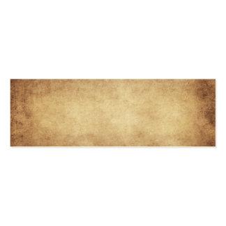 Personalizado del fondo del papel de la antigüedad plantillas de tarjeta de negocio