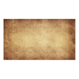Personalizado del fondo del papel de la antigüedad tarjetas de visita