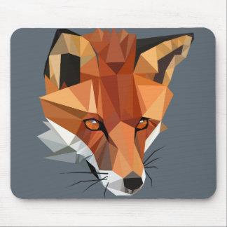 Personalizado del Fox del polígono Tapete De Ratones
